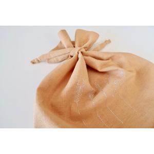 Brødpose i bomull/lin